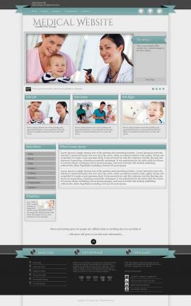 Strength Medical WordPress Theme