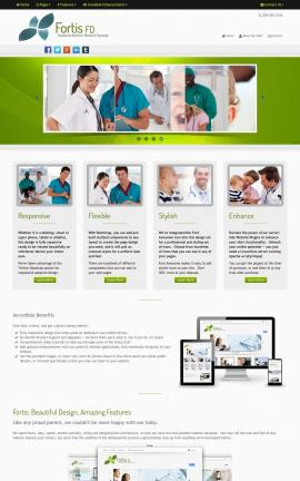 Fortis FD Medical WordPress Theme