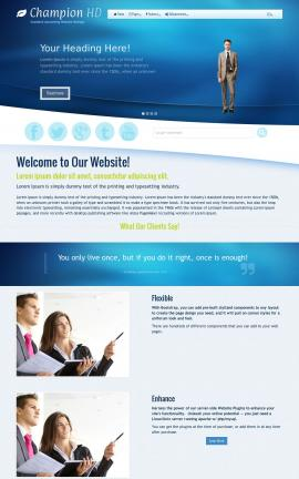 Champion HD Accounting WordPress Theme