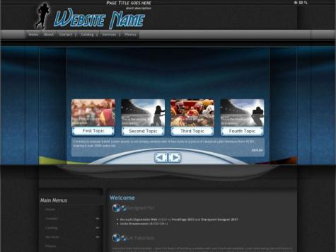 Football Sharepoint Designer Templates
