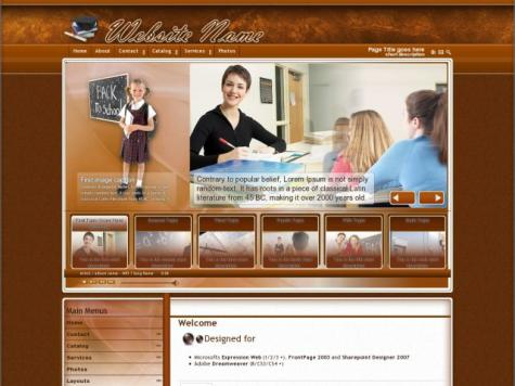 Education Sharepoint Designer Templates