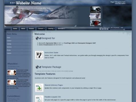 Snowmobile Website Plugins