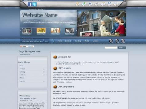 Real-estate Frontpage Templates