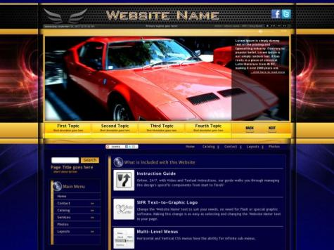 Cars Web Templates