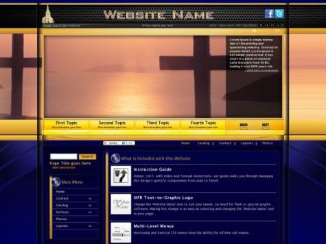Religion Frontpage Templates