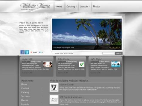 Travel Frontpage Templates