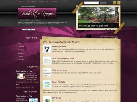 Landscaping Dreamweaver Templates