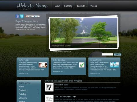 Golf Web Templates