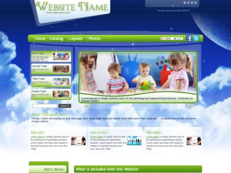 Childcare Web Templates