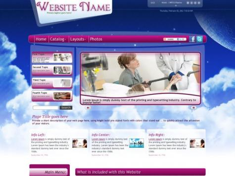 Medical Frontpage Templates