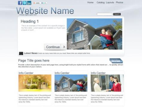 Real-estate Sharepoint Designer Templates