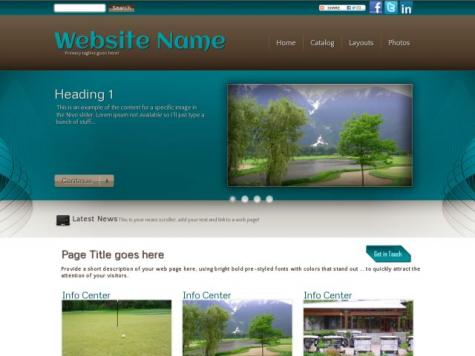 Golf Sharepoint Designer Templates