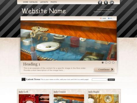 Antiques Sharepoint Designer Templates
