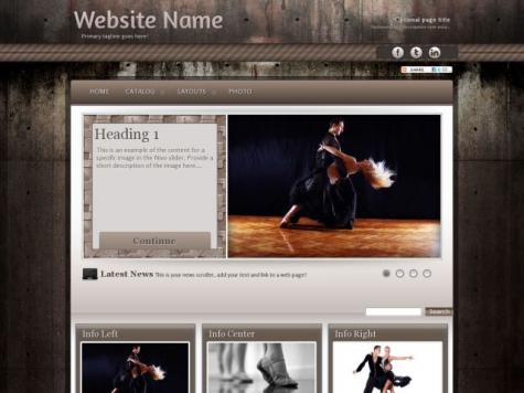 Dance Sharepoint Designer Templates
