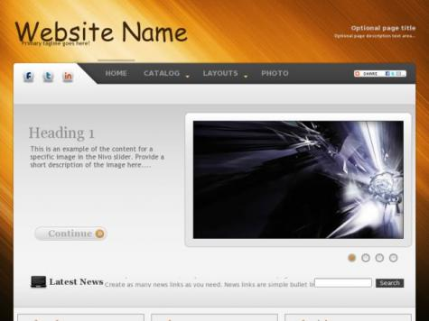 Abstract Web Templates