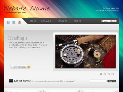 Fishing Web Templates