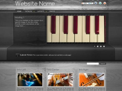 Music Sharepoint Designer Templates