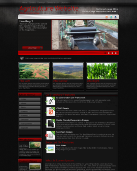 Foundation Agriculture Website Template