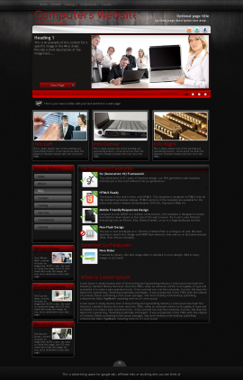 Foundation Computers Website Template