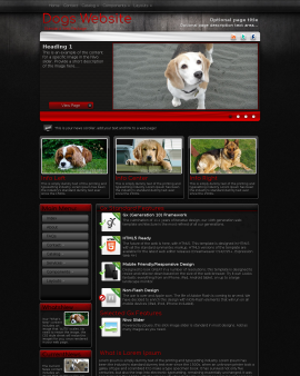 Foundation Dogs Website Template