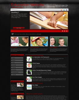 Foundation Education Website Template