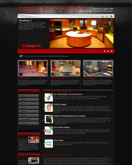 Foundation Interior-design Website Template