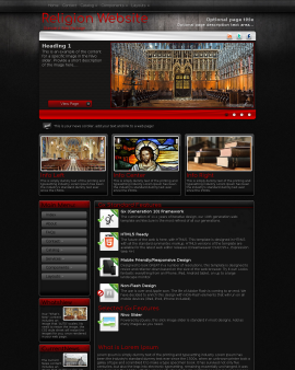Foundation Religion Website Template
