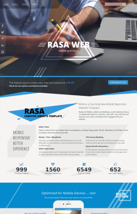 Rasa Accounting Website Template