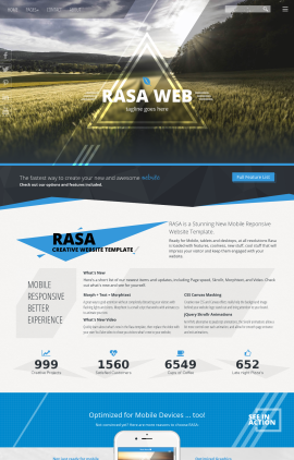 Rasa Agriculture Website Template