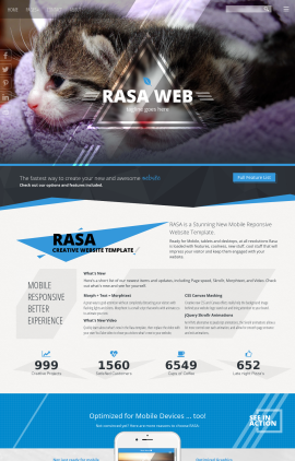 Rasa Animal-shelter Website Template