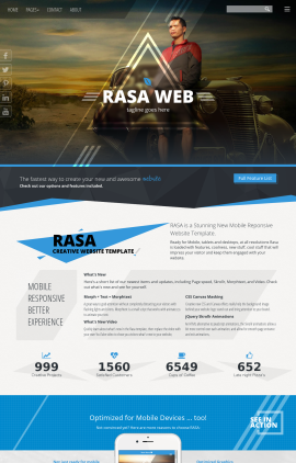Rasa Automobile Website Template