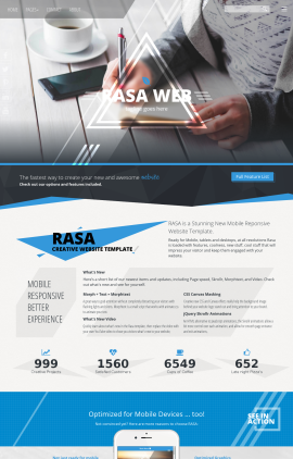 Rasa Business Website Template