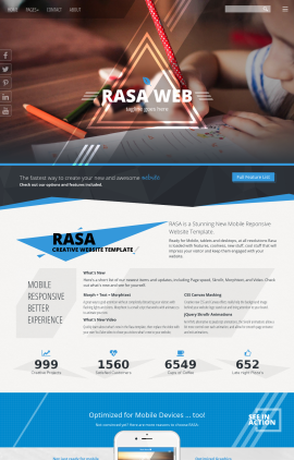 Rasa Child-care Website Template