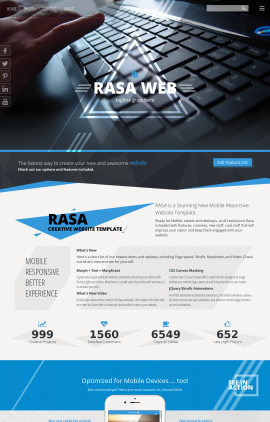 Rasa Computers Website Template