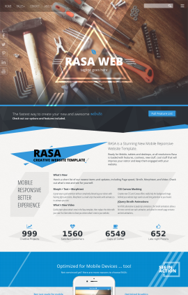 Rasa Construction Website Template