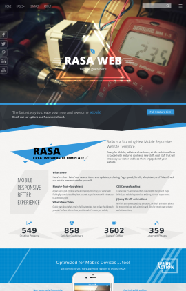 Rasa Electrical Website Template
