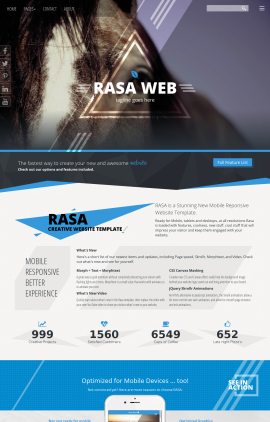 Rasa Equestrian Website Template