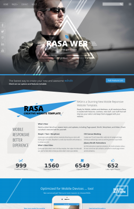 Rasa Fishing Website Template