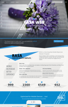 Rasa Floral Website Template
