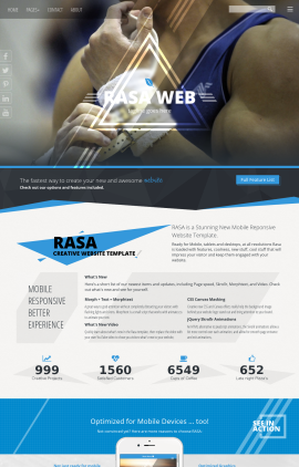 Rasa Gymnastics Website Template