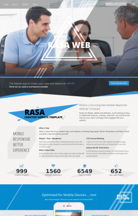 Rasa Insurance Website Template
