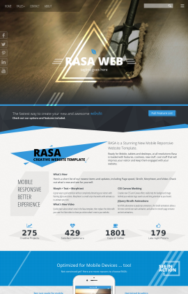 Rasa Janitorial Website Template