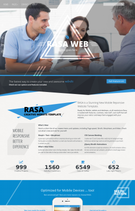 Rasa Law Website Template