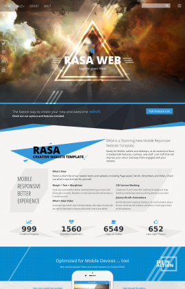 Rasa Motocross Website Template