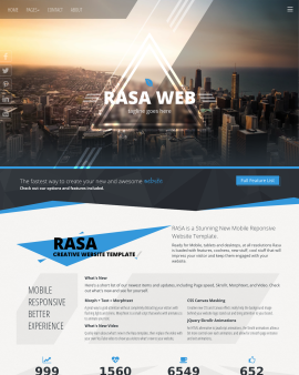 Rasa Multi-purpose Website Template
