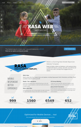 Rasa Photography Website Template