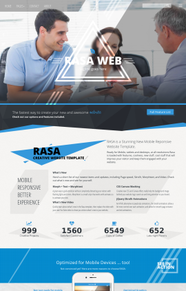 Rasa Real-estate Website Template