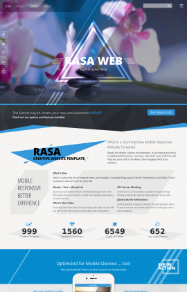 Rasa Spa Website Template