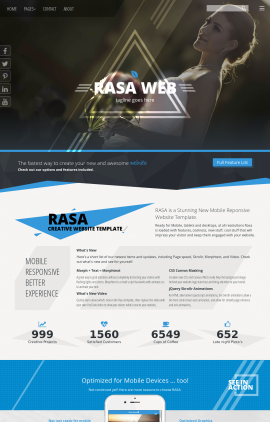 Rasa Wedding Website Template