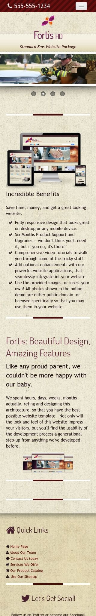 Mobile: Ems Web Template